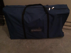 Portable fold up camping kitchen