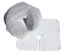 $8 Massage Table Face Cradle Liners, Disposable Headrest Covers