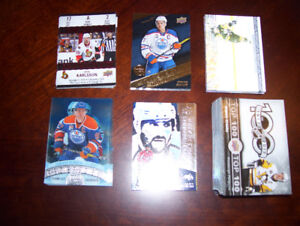 Tim Hortons NHL Hockey Cards 2017/18 and 2016/17 all inserts