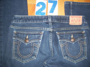 Huge Lot of Womens True Religion Jeans 10 Total Sizes 26 + 27 Cambridge Kitchener Area image 8