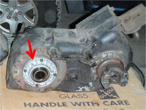 Drivers drop NP205 transfer case with extra 32 spline Chev input