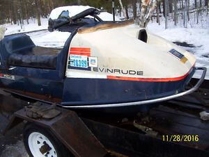 Evinrude RC- 35-Q vintage snowmobile  rotary engine TRADES?