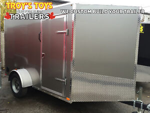 Canadian Made 6' x 10' V-Nose Cargo Trailers • 3 Year Warranty London Ontario image 3