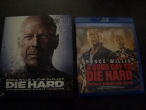 5 Films Die Hard Blu Ray - Marche ou Crève 25th Collection