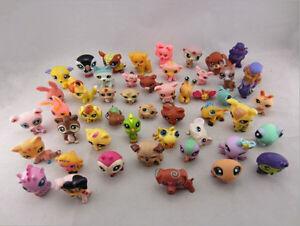10X new Littlest Pet Shop Cat Dog Animal Figures Collection kid Toy 5-10 cm