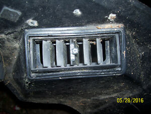 Honda Goldwing 1100 fresh air outlet vent air duct