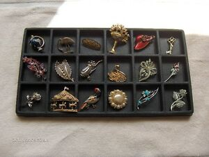 beautiful lot of pins/broaches