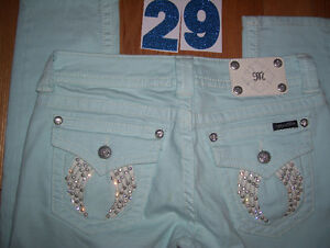 Huge Lot of Womens Miss Me Jeans 4 Total Size 28 + 29 + 30 Cambridge Kitchener Area image 3