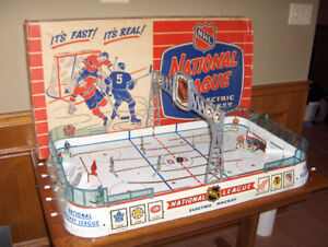 CASH PAID FOR OLD TABLE TOP HOCKEY GAMES