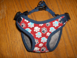 Small Dog collar/body harness