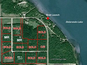 10 Acre Lakeside Lot at Delaronde Lake, SK