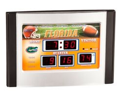 University of Florida Gators UF Scoreboard Desk Clock Free Shipping 3X Champ