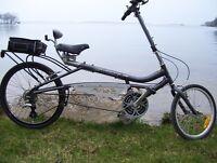 Evox 140 recumbent bicycle