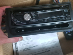 panasonic stereo almost new