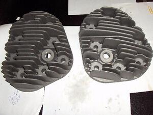 Vintage Harley Davidson 45 Flathead Aluminum Heads
