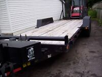 selling my 21 foot flat bed