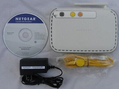 (Netgear WGR614 V10 Broadband Internet Wireless Access Router 802.11g 4-Port WiFi)