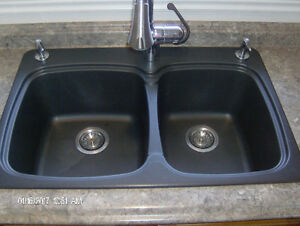 SINK: BLANCO SILGRANIT VIENNA Anthracite double bowl 31""