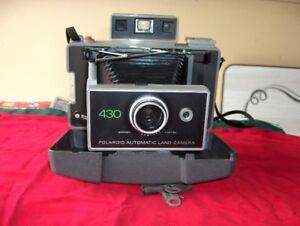Polaroid 430 camera