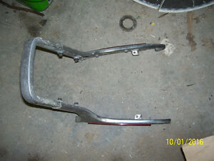 Honda Magna sissy bar rear grab bar grab rail brackets