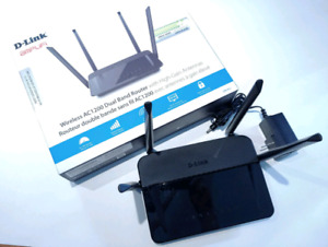 D-Link Wireless AC 1200 Dual Band Router w High-Gain Antennas