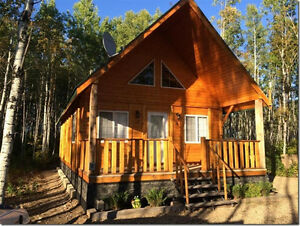 Log Cabin For Sale at Barrier Lakeview Resort