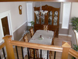 Like New Dining Set with Buffet