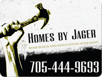 For all your renovation and construction needs
