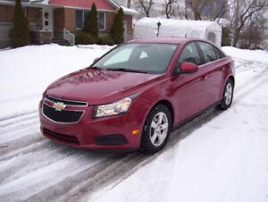 2013 Chevrolet Cruze LT Turbo Automatique Cuir ** Aubaine **