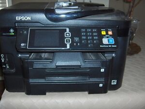 Great deal!!!   Epson Workforce WF-3640 Printer with new ink