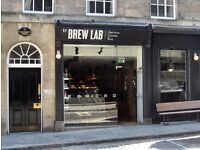 Brew Lab - Part-Time Front of House (25 hours per week)