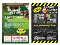 Lawn Cutting and Landscaping. Save on Lawn rolling and Aeration