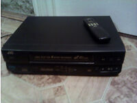 JVC VCR with remote VHS CLASSIC