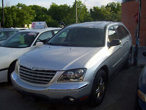 2004 Chrysler Pacifica -LOADED! LEATHER, POWER ROOF, CHROME RIMS