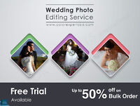 Freeze your wedding photos with warm images