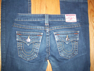 Huge Lot of Womens True Religion Jeans 6 Total Size 24 + 25 Cambridge Kitchener Area image 5