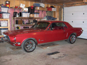 MUSTANG 1968 COUPE