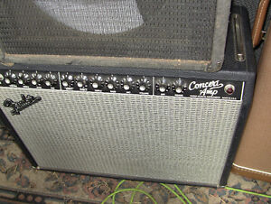 Fender  Pro Series Concert Amplifier all Tube