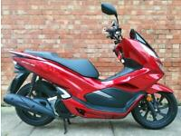 2020 Honda PCX 125 with ONLY 107 miles