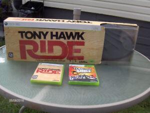 Tony Hawk Ride skateboard xbox 360