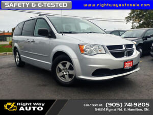 2011 Dodge Grand Caravan SE | SAFETY & E-TESTED