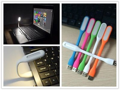 Portable Flexible USB LED Light Lamp For Computer Keyboard Laptop Notebook Read