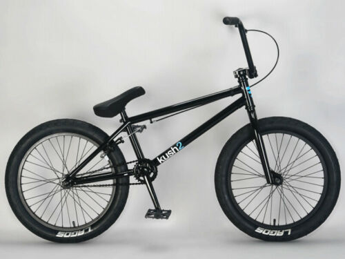 "Mafiabike 20"" Kush 2 Freestyle BMX Bicycle Bike 1 Piece Crank Black NEW"