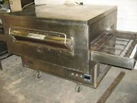 """GAS 32"""" MIDDLEBY MARSHALL PIZZA OVEN CONVEYOR BELT CATERING COMMERCIAL KITCHEN RESTAURANT CAFE KEBAB"""