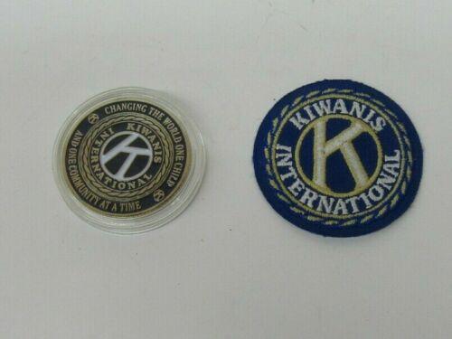 Kiwanis International Patch & New Braunfels Texas Chapter Token Lot