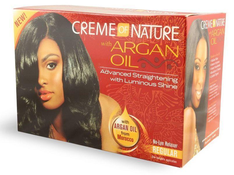 Creme Of Nature Argan Oil Protect Edge Black Hair