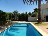 STUNNING 7 bedroom villa for holiday rental * Javea Alicante * Private Pool * Sleeps 12 *