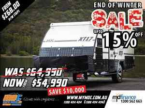 NEW MDC XT-17 OFFROAD HYBRID CARAVAN SALE - CAMPER TRAILER PARK Salisbury Brisbane South West Preview