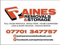 PAINE'S REMOVALS & STORAGE (EXCELLENT REVIEWS)