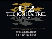 x4 Standing/General Admission for U2 @ Twickenham on 9th July 2017